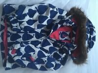 Boden Children's Ski Jacket Pear Design 6-7 yrs