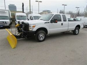 2015 Ford F-250 Extended Cab 4x4 long box with plow
