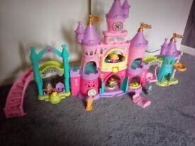 V tech Toot Toot Princess Kingdom Castle