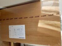 Ikea Pax Malm Komplement Pax Oak Effect Wardrobe Shelves x6 100x58 cm