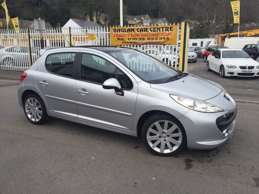 peugeot 207 1 6 hdi fap gt 5dr silver 2009 in baglan neath port talbot gumtree. Black Bedroom Furniture Sets. Home Design Ideas