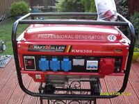 GENERATOR KRAFT MULLER 9300 WATT NEW IN BOX