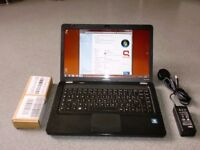 compaq presario cq56 laptop webcam dual core brand new battery