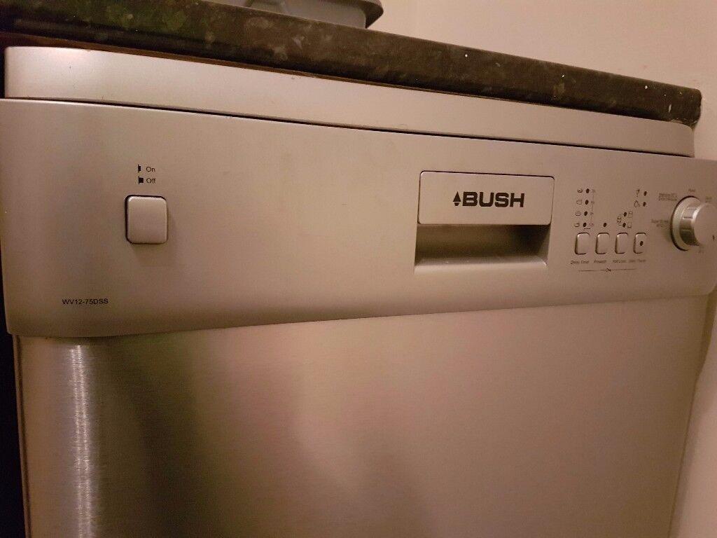 Bush silver/grey Dishwasher