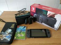 Nintendo Switch Zelda Bundle