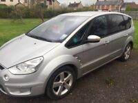 Silver Ford Smax 2.0TDI, 7 Seater.