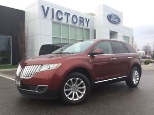 2014 Lincoln MKX Navi, Bluetooth, Super low KM!!!!