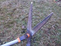 long-handled Wilkinson Sword garden shears for lawn edging