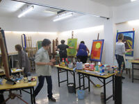 art CLASS - Drawing and Painting & Watercolour Courses