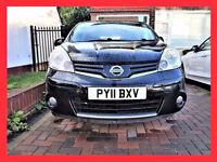 (42000 Miles) --- 2011 Nissan Note 1.5 dCi N-TEC --- DIESEL-- Navigation --alternate4 toyota corolla