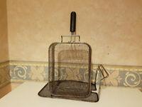 Stainless Basket Natural Gas Frye !!!!!!!