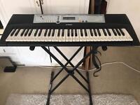 Yamaha Keyboard with Stand
