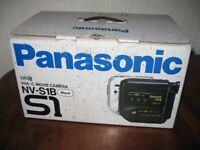 ICONIC PANASONIC PALMCORDER NV-S1B VHS - COMPACT MOVIE