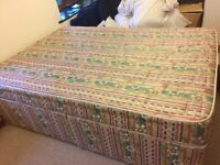 Free Divan bed and matress (collection only from Bristol)