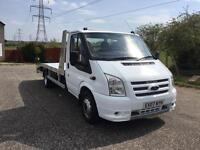 Ford transit 115 350 ef rwd recovery truck all alloy body px welcome