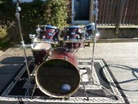Mapex Mars bloodwood 7 piece shell pack