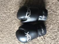 Reebok 14oz boxing gloves hardly used
