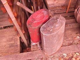 Copper back pack sprayers