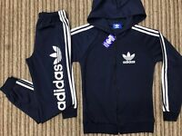 Brand New With Tags Ladies Adidas Navy Slim Fit Tracksuits £35 Each
