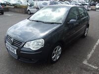 2009 09 VOLKSWAGEN POLO 1.2 MATCH 5D 68 BHP***GUARANTEED FINANCE***PART EX WELCOME***