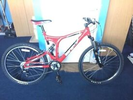 """18"""" GT I-Drive Comp Full-Suspension Mountain Bike - As new"""