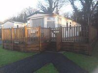 Finlake Devon Carnaby Dovedale 352B Caravan. 2006. 38` x 12` 2 Bedroom (sleeps 6)