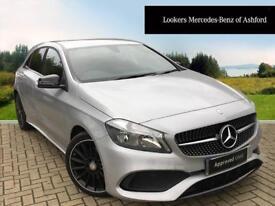 Mercedes-Benz A Class A 200 AMG LINE (silver) 2017-09-22
