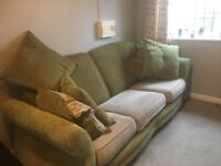 3an2seater sofas + 3 seater an large chair
