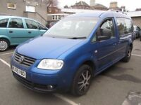 2009 Volkswagen Caddy Maxi Life 1.9 TDI LWB 7 Seater - NO VAT