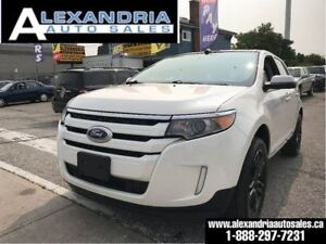 Ford Edge Sel Navi Pano Sunroof Leather Awd Safety Included