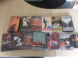 U2 dvds videos