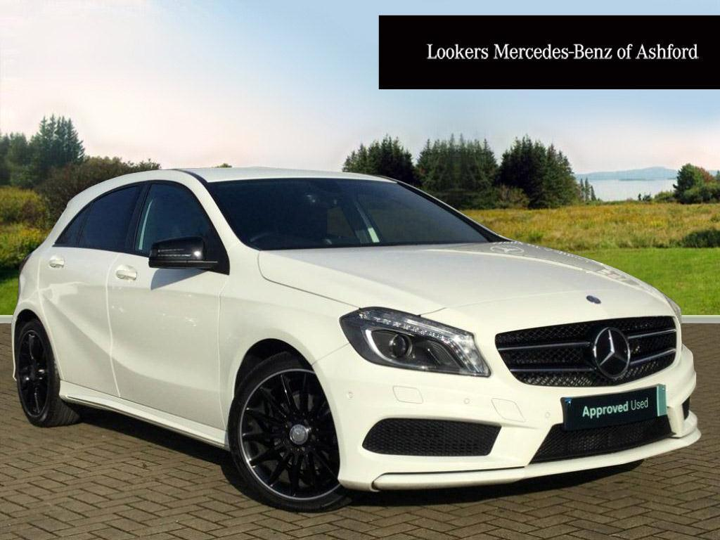 mercedes benz a class a180 cdi blueefficiency amg sport white 2014 10 17 in ashford kent. Black Bedroom Furniture Sets. Home Design Ideas
