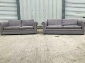 Grey John Lewis 3&2 seater sofas, couches, suites, furniture 🚚