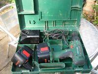 powertools incl; drills compressor sanders polishers