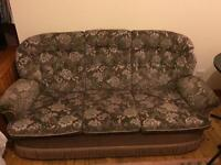 Fabric sofa 3 seater 2 seater and 2 single sofas