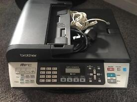 Brother MFC-5490CN Network Ready Colour Inkjet Multifunction Printer with Fax