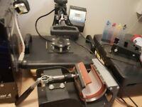PIXMAX T-Shirt Heat Press Machine & Printer