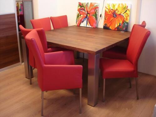 Eetkamerstoelen met armleuning marktplaats meubels door for Goedkope eetkamerstoelen met armleuning