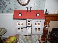 Beautiful wooden dollshouse