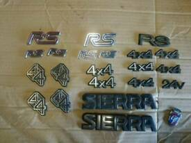 Ford focus rs,sierra cosworth badges from £10 each