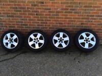"""Vw alloy wheels 16"""" 5x100 Audi vw golf Passat"""