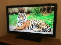 "Samsung 40"" Full 1080p Freeview LCD TV. Model number LE40C580J1K."