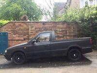 Skoda Felicia Pick up 1.9D like VW Caddy Mk2 MkII Rat Look Project 77k MOT