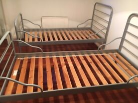 2 single bed IKEA frames for sale