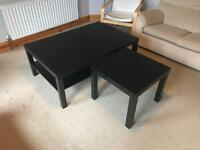 Coffee table and small table