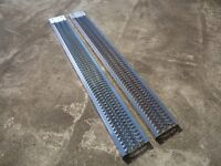 PAIR OF NEW LOADING RAMPS ( Ride on Lawnmower, Quad, Van, Car Trailer, Tractor )