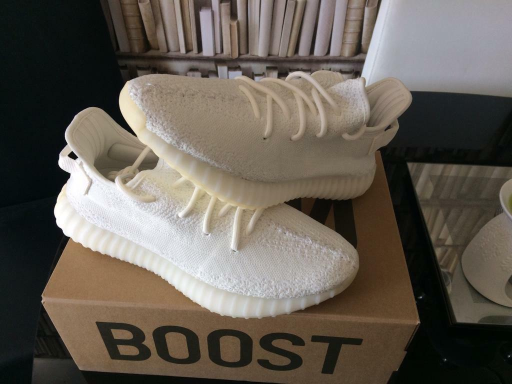 Adidas Yeezy Boost 350 V2 uk9in New Moston, ManchesterGumtree - Adidas yeezy boost 350Colour whiteSize UK9Was lucky enough to get a pair of one of the latest colourways of the yeezys to be released 29/4/17, had delivered to me from adidas on 5/5/17.They have never been worn not even tried them on.Have all adidas...