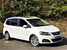SEAT Alhambra TDI CR SE LUX DSG (pure white) 2014