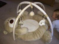 Bear playmat (Mothercare)
