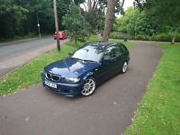 2004 BMW e46 325i M Sport Touring Estate Petrol Blue
